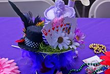 Alice in Wonderland Baby shower / My daughter is having a baby girl in December, so we gave her an Alice in Wonderland party