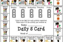 The Daily 5 / by Tara Repp