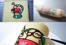 Deco roll-kawaii cake