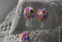 Ревелюр / фоамиран, цветы