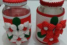 potes decorados