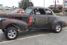 Retired Old Rusty Drag Cars / by Nick Chicone