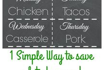 Meal Planning - life less crazy