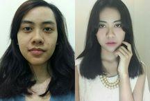 Flawless Makeup / Soft eye makeup