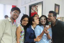 Celebration @ Quantspire / We celebrate work success, birthdays, festivals etc. without fail ..