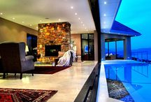 Simon's Town Earth & Water /  Situated in a prime position 5 minutes from the beach, this landmark house overlooks the entire False Bay, a symphony of architecture, glass and modern design Simon's Town Earth & Water has one of the best possible views the area has to offer.