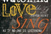 Love, dance, sing