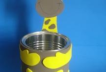 moldes bichinhos/ latas