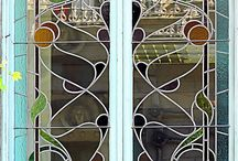 Art deco windows