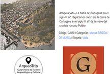 ACTIVIDADES DE TURISMO ARQUEOLÓGICO Y CULTURAL RECOMENDADAS / Turismo Arqueológico y Cultural