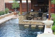 Backyard/Pool / by Amy Schneider