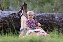 Country family photography / Family Photos in AMD around the country.. For all the bush people out there :)