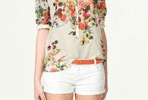 Гардероб лето / Цветовая палитра на лето и форма одежды.