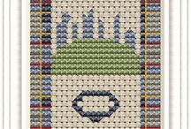 Cross stitch/Κέντημα/Punto de cruz