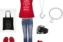 Softball Mom outfits / by Kelly Welch