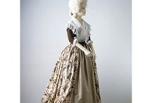 1770s-1780s gowns