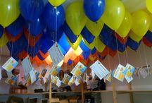 """Lâcher de Ballons """"Tous avec Clément"""" 20 sept 2014 / L'association a été créée en 2006 par Lucie FAGEDET, pour continuer le combat de son fils Clément, décédé à l'âge de 4 ans, d'un neuroblastome.Le but de l'association est de faire connaître le cancer de l'enfant, et de mener diverses actions afin de récolter des dons au profit du Centre de Recherche sur les Tumeurs cancéreuses de l'Enfant et de l'adolescent (C.R.T.E) de l'Institut Gustave Roussy de Villejuif (94)."""