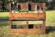 Pallet and reclaimed wood