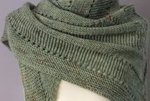 Knitted Shawls, Stoles & Scarves