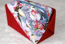 Kosmetiktaschen / Kosmetiktaschen aus japanischen Stoffen von NORIKO handmade