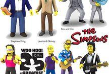 Simpsons action figures