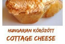 Hungarian appetizers