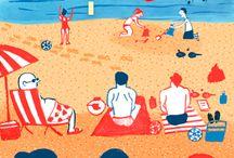 Ilustraciones verano