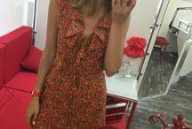 My dresses / Wrap over dress