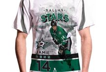 Dallas Stars / Official NHL Apparel for the Dallas Stars. T-Shirts, Sweaters, and more featuring the team's top stars.