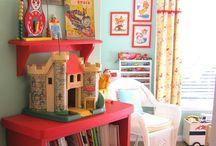 Vintage Playroom