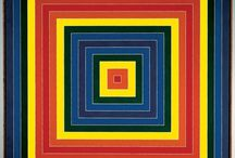 Frank Stella / Frank Philip Stella is an American painter, sculptor and printmaker, noted for his work in the areas of minimalism and post-painterly abstraction. Stella lives and works in New York City. Wiki