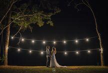 Casamento com luzinhas / Luzinhas e mais luzinhas como decoração de casamento!