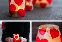 Valentinstagsgeschenke / Tolle Ideen für selbstgemachte Geschenke zum Valentinstag.