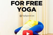 You Tube CHANNELS FOR FREE YOGA