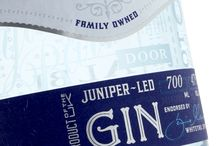 Whitetail London Dry Gin / The label for this juniper-led gin was printed on a digital press and embellished with delicate silver and blue detailing to achieve a visually captivating finish.