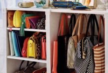 purse/bags organization