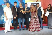 """NDT Hall of Fame Awards 2017 / Distinguished achievers were recently honoured with 'NDT Hall of Fame Awards 2017' by the Nav Drishti Group at the Le Grand, Peeragarhi on 5th August'2017. The key highlight of the event was the """"Grand Awards Night"""", ensued by the unveiling of the cover page of the newly designed 'Nav Drishti Times- Business & Society Icons' Magazine. Prominent among those honoured with the 'NDT Hall of Fame Awards 2017' were Sushil Vakil, Subhash Sethi, AK Tiwary, Anurag Khandelwal & Dr RK Tuli to name a few."""