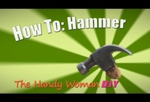 The Handy Woman DIY - Tool Bench / Part of being a Handy Woman requires the knowledge of how to properly and safely use the tools when working on your projects.