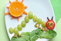 şekillerle meyve tabağı