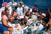 The Good Ol' Days !    Sailing in the Greek islands & Turkey / The early days of SeaScape -  some of our sailing adventures & crewmates in Greece & Turkey