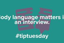 InterviewStream Interview Tips / Our weekly Tip Tuesday posts!