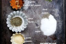 Seasoning and marinade ideas