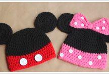 Örme bebek şapkaları