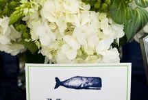 Green & White Wedding Inspiration / www.soireefloral.com