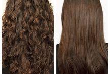 Chemically Straight Hair