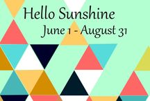 Hello Sunshine Quilting Challenge !!! / This board is about a quilting contest 2016 !!!!
