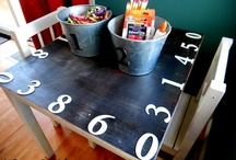 Playroom DIY Ideas / It's amazing what one can craft for the kiddos.