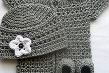 Knitting-crochet baby