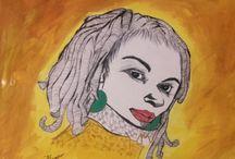 my sketch, drawings, paintings or cartoons