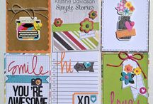 Documenting Life - Handmade cards / Documenting Life handmade card ideas